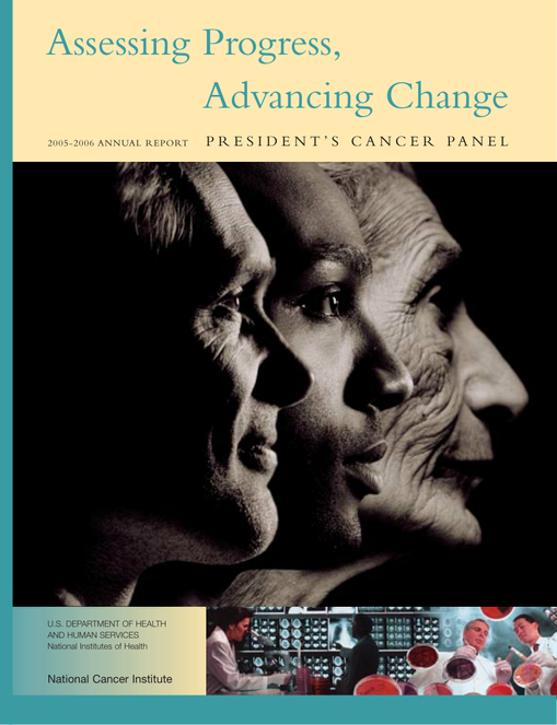 Presidents Cancer Panel Annual Report — 05-06