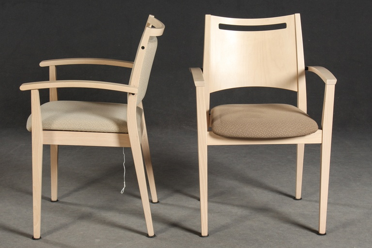 Pair of Buena Nova Chairs by Roland Schmidt for Brunner`