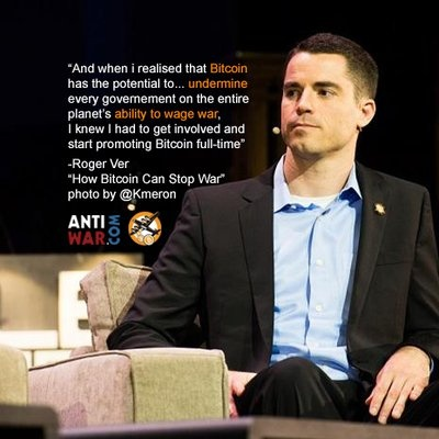 a photo of crypto expert reviewer Roger Ver