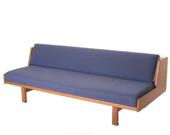 GE258 Oak Daybed by Hans Wegner for Getama