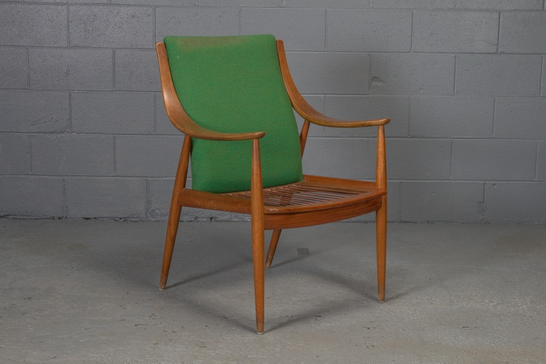 Teak Easy Chair No. 1 by Peter Hvidt & Orla Mølgaard-Nielsen