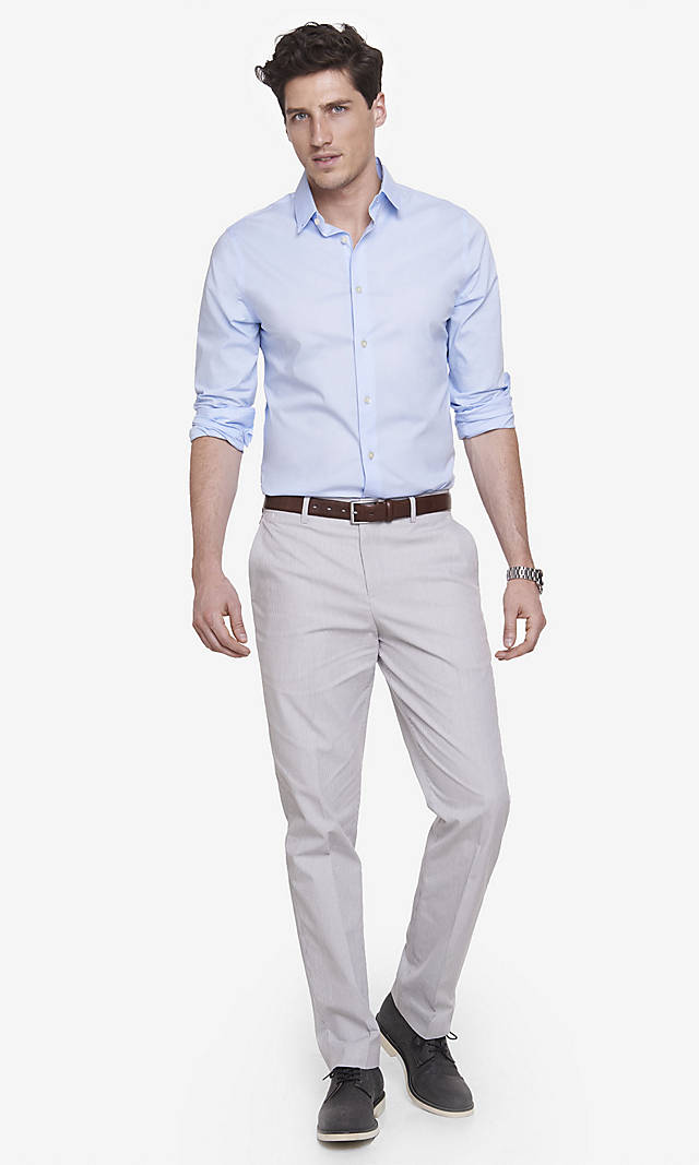 Light Gray Dress Pants | Gpant