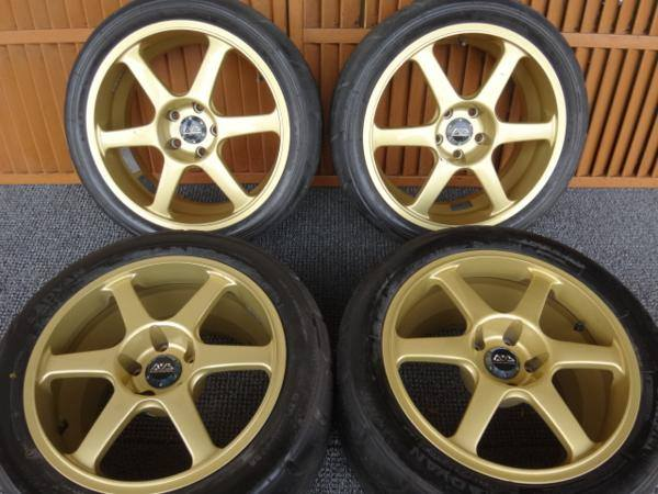 JUN Supra JZA80 Advan AVS Model 6 18x8+35 17x11+53 5x114.3