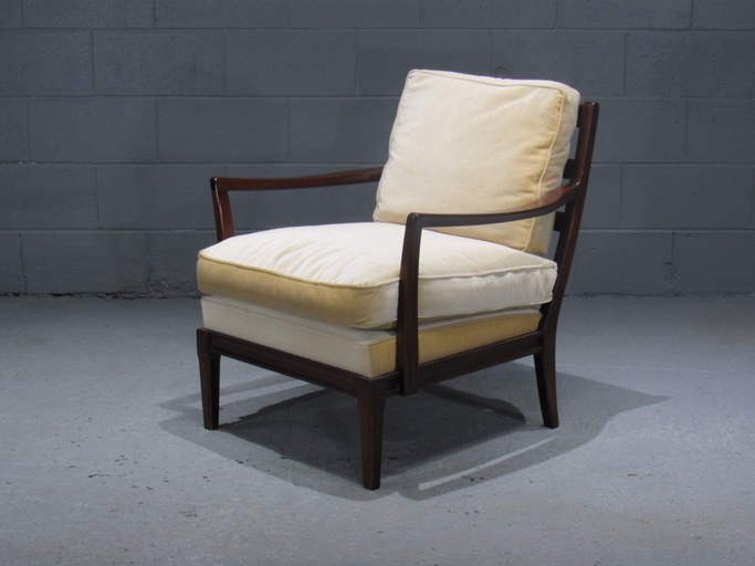 Danish Modern Armchair with Down-Filled Cushions