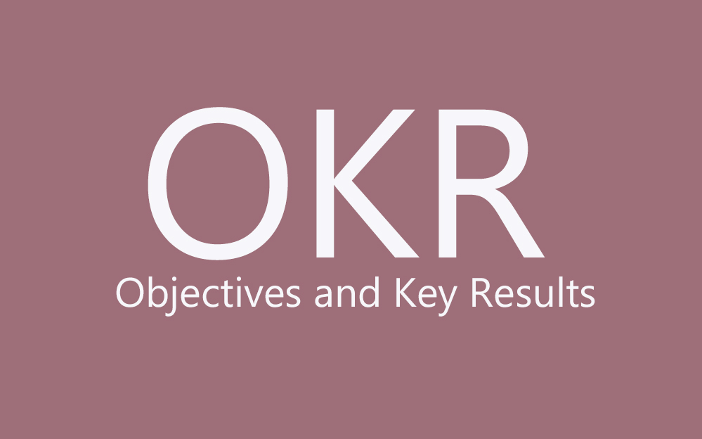 Track Objectives And Key Results OKR