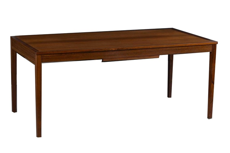 Rosewood Extension Table with Pull-Out Leaves