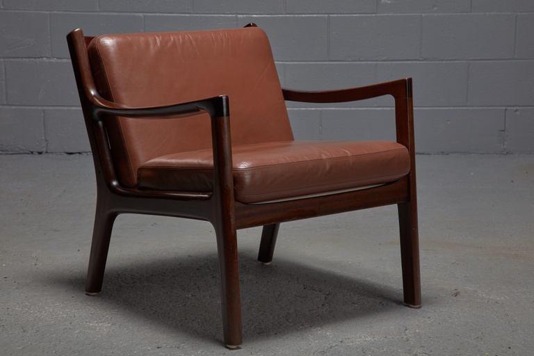 Pair of Senator Easy Chairs by Ole Wanscher for Cado