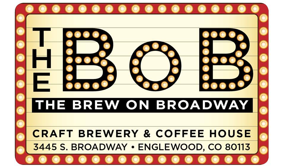 The Brew On Broadway (The BoB) logo