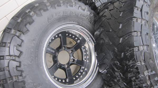 Shane's 4WD wheels