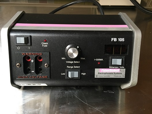 Fisher Scientific FB105 Gel Electrophoresis