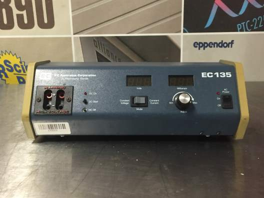 EC Apparatus EC 135 Electrophoresis Power Supply