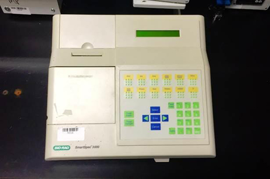 Bio-Rad Smartspec 3000 Spectrophotometer UV/Vis Reader