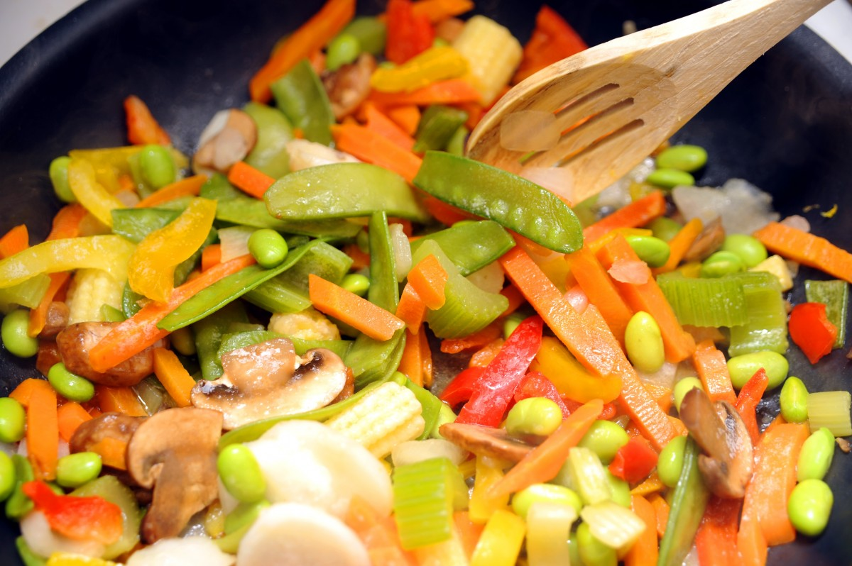 Mixed vegetables in Oyster Sauce