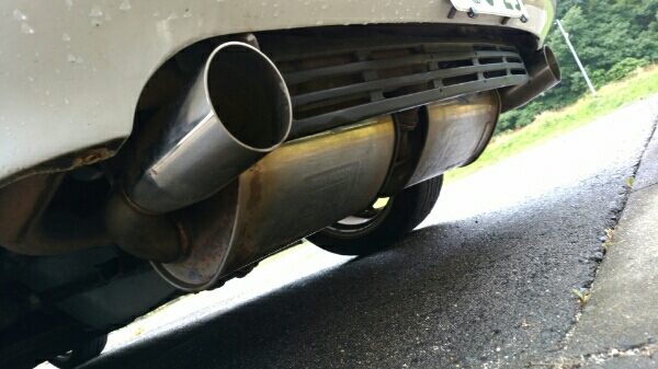 MR2 SW20 NA Fujitsubo Legalis R Exhaust