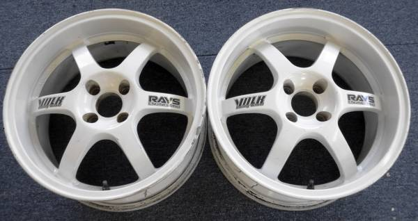 Rays Engineering TE37 Cup 16x8+32 4x100 (Pair)