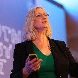 a photo of crypto expert reviewer Frances Coppola