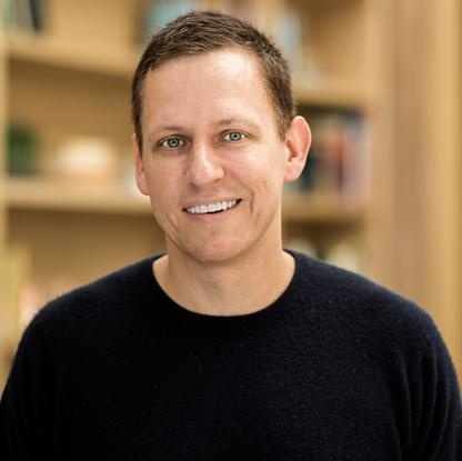 A thumbnail of crypto expert reviewer Peter Thiel