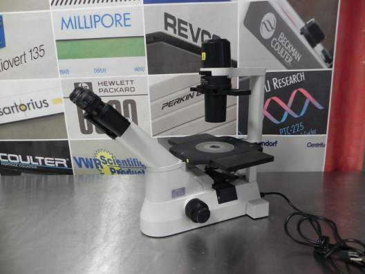 Nikon Eclipse TS100 Inverted Phase Contrast Microscope