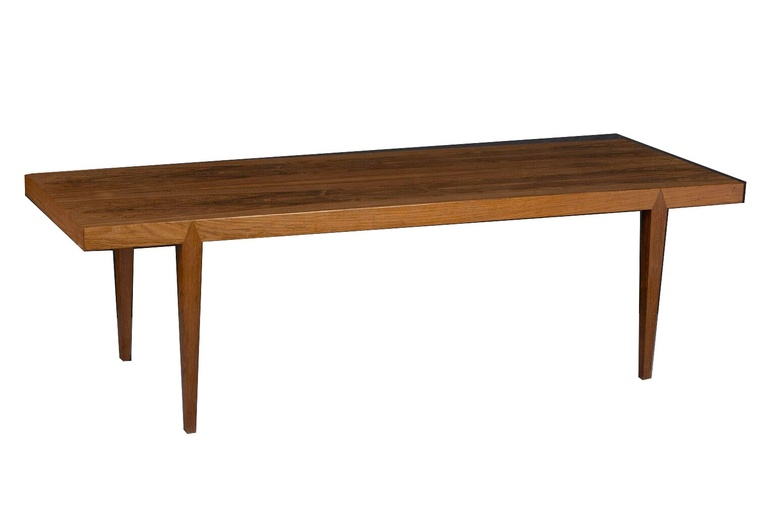 Mid-Century Danish Rosewood Coffee Table by Severin Hansen, 1960