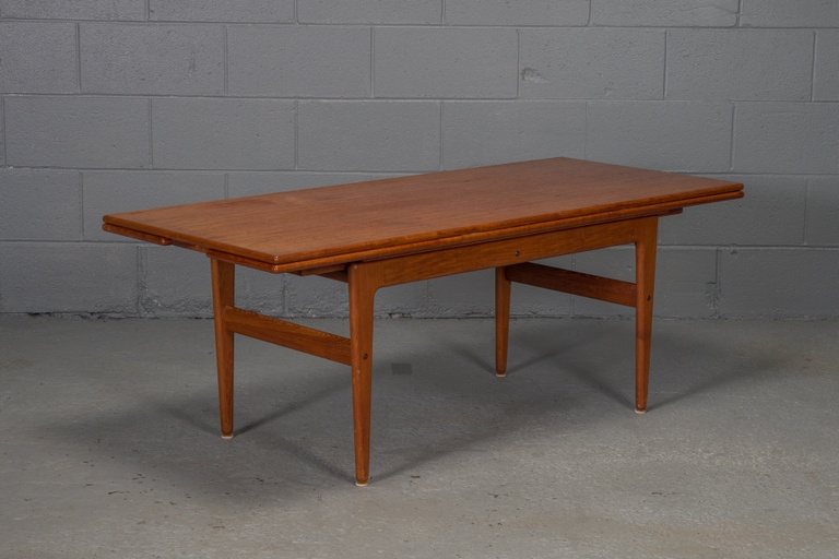 Danish Modern Teak Elevator Coffee Table