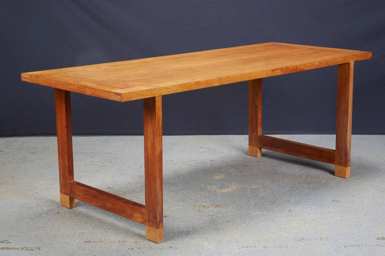 Oak Snack Table