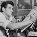 Leonard Bernstein in 1955, Photo by Al Ravenna, World Telegram staff photographer, Library of Congress