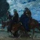 Henry Ossawa Tanner's Flight into Egypt, Photo by Courtesy of the Allen Memorial Art Museum