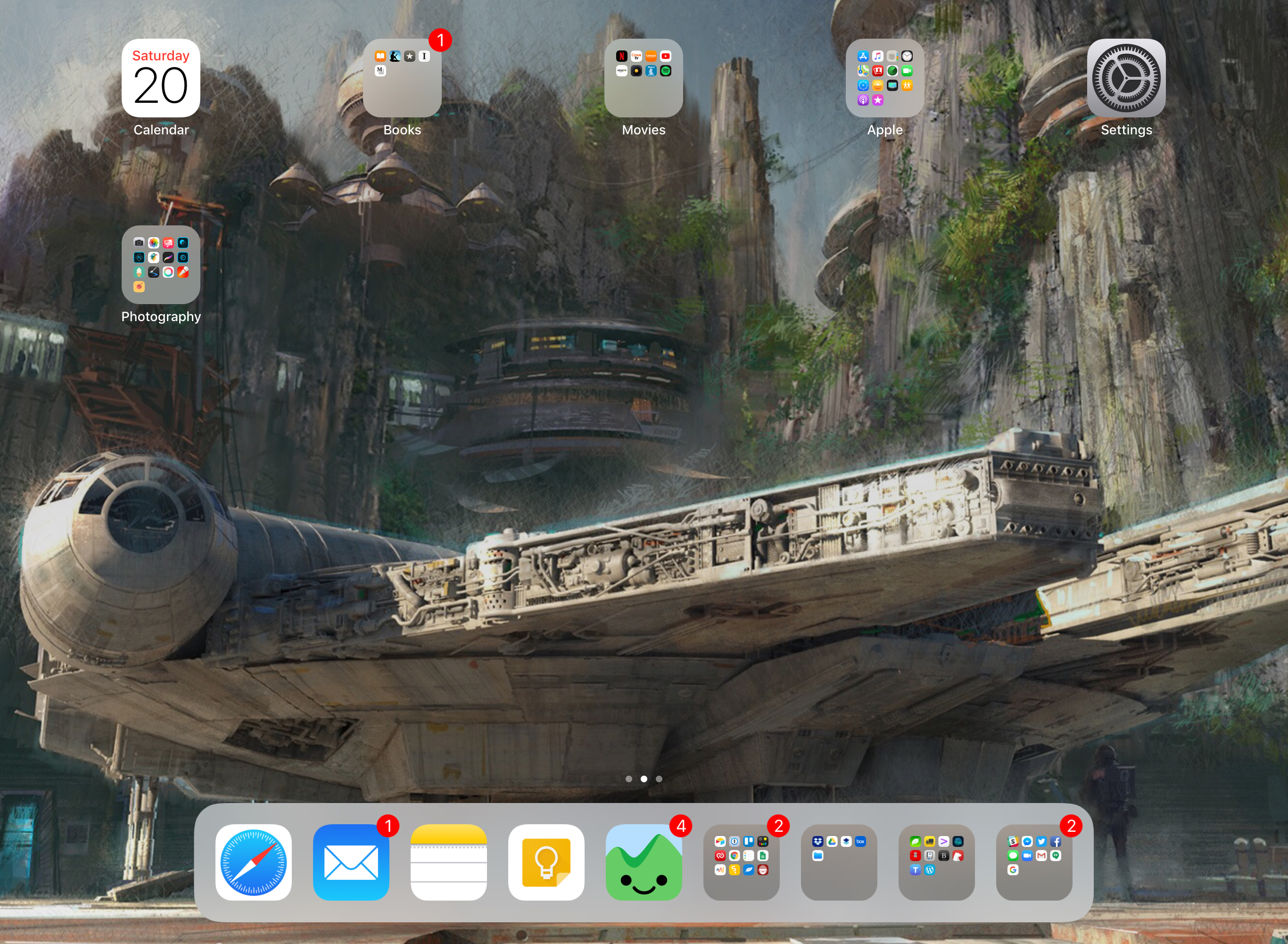 iOS 11 and the dock