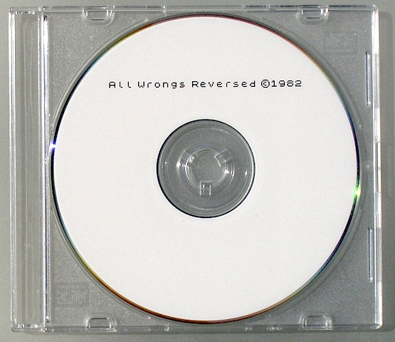 All Wrongs Reversed ©1982