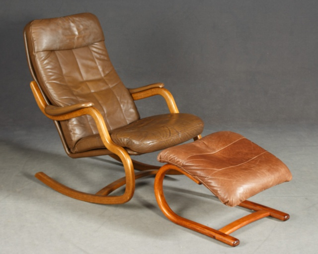 Danish Lounge/Rocking Chair